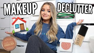 I'M MOVING!! DECLUTTER WITH ME.. MAKEUP PART 1