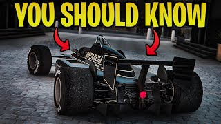 1 MAJOR Thing You Should Know BEFORE The NEW F1 Race Cars Release in GTA 5 Online!