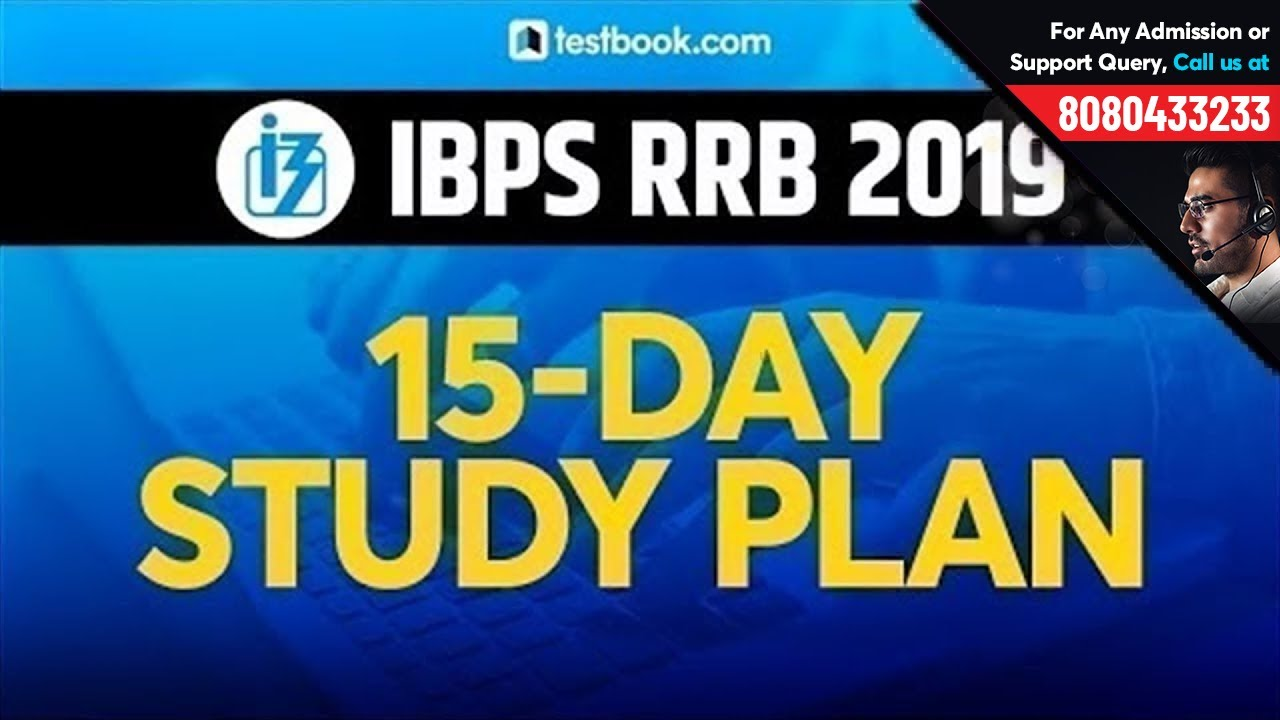 15-Day Study Plan for IBPS RRB 2019 | Preparation Tips