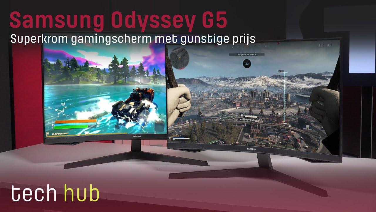 Samsung Odyssey G5 Review - Superkrom gamingscherm met gunstige prijs - Tweakers Tech Hub
