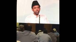 Mr. Ahmad sahab's nazam in 3rd day session of Jalsa Salana USA 2016