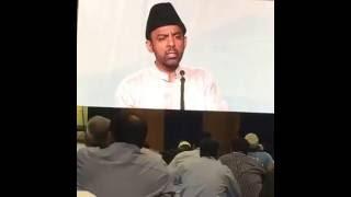 Mr. Ahmad sahab's nazam in 3rd day session of Jalsa Salana USA 2016