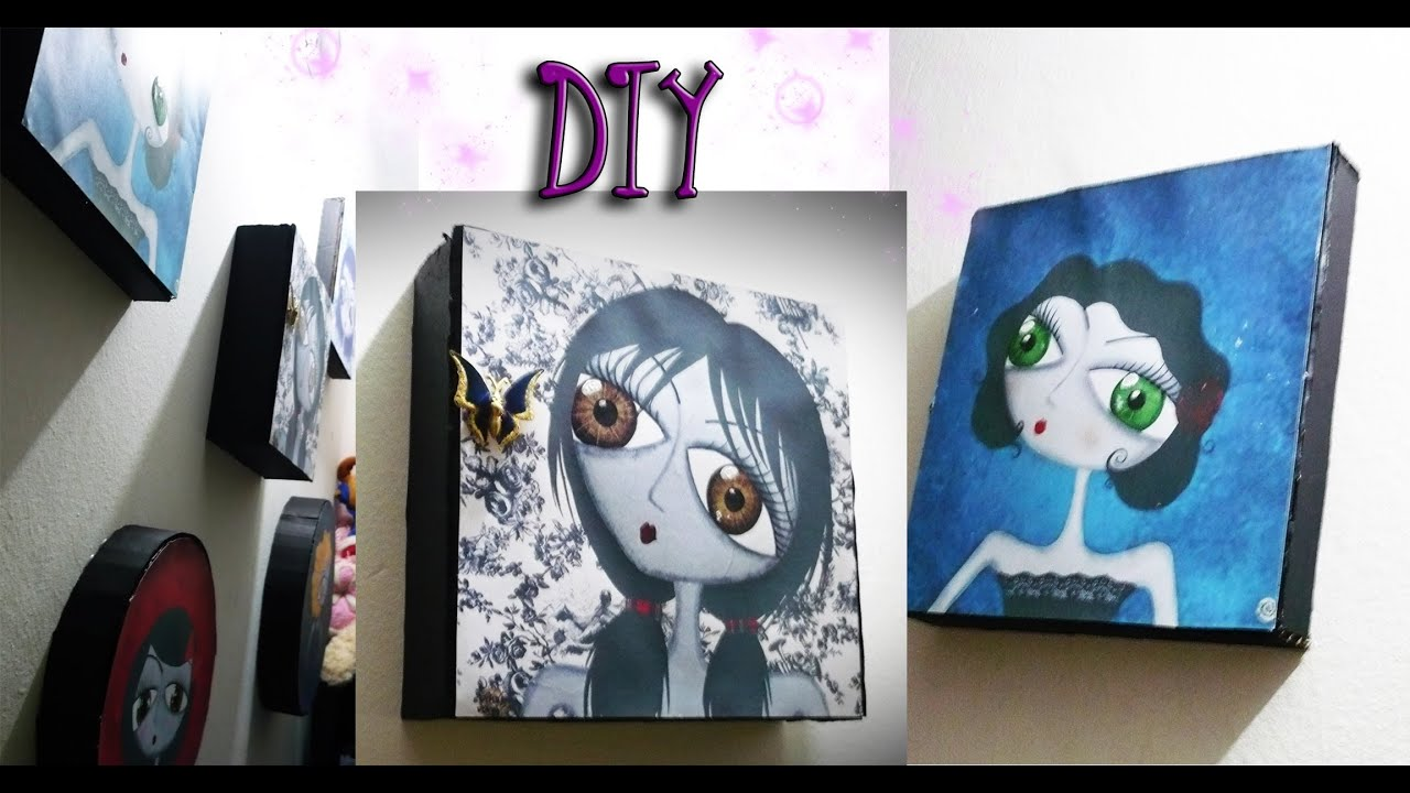Diy Cuadros Diy Cuadros Minimalistas Idea 2 Reciclando Youtube