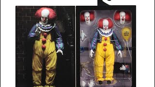 neca toys it 1990 movie pennywise ultimate version 2 reveal