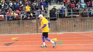 Masters 100-yard dash at Penn Relays (with 100-year old setting world record)