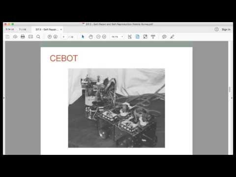 ER#5: Self-Repair & Self-Reproduction Modular Robotic Systems