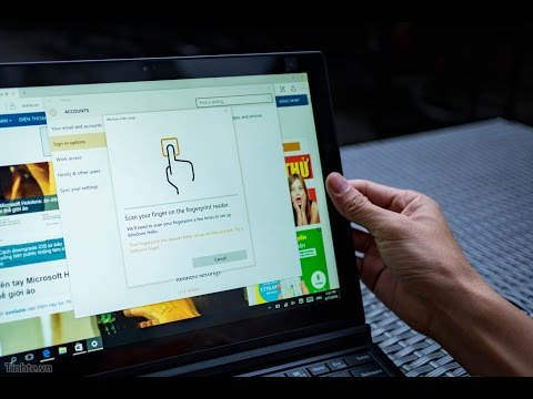Tinhte.vn - Cảm biến vân tay hiện đại trên máy Windows (Lenovo X1 Tablet): tuyệt vời