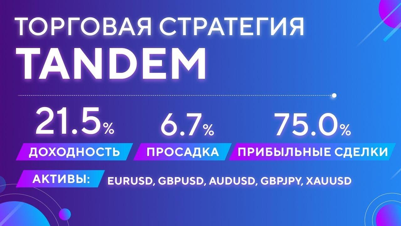 Торговая стратегия Tandem от Atimex (Автор: Тимур Асланов)