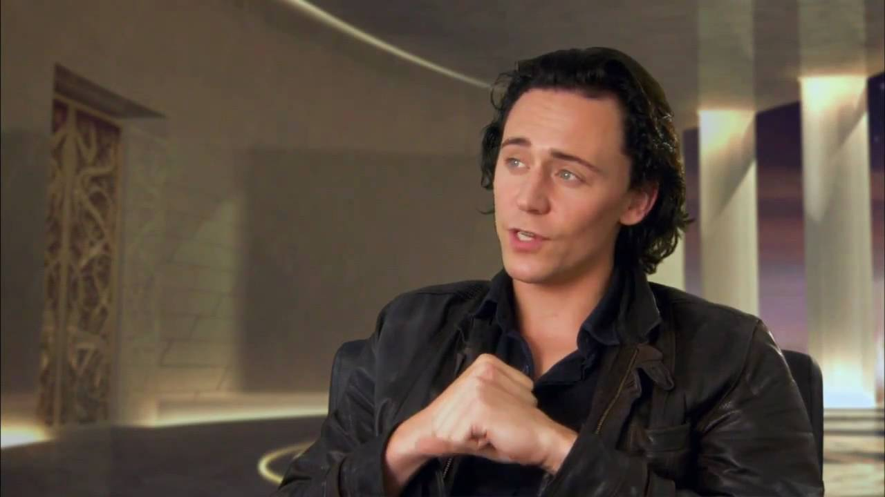 Image result for tom hiddleston loki interview