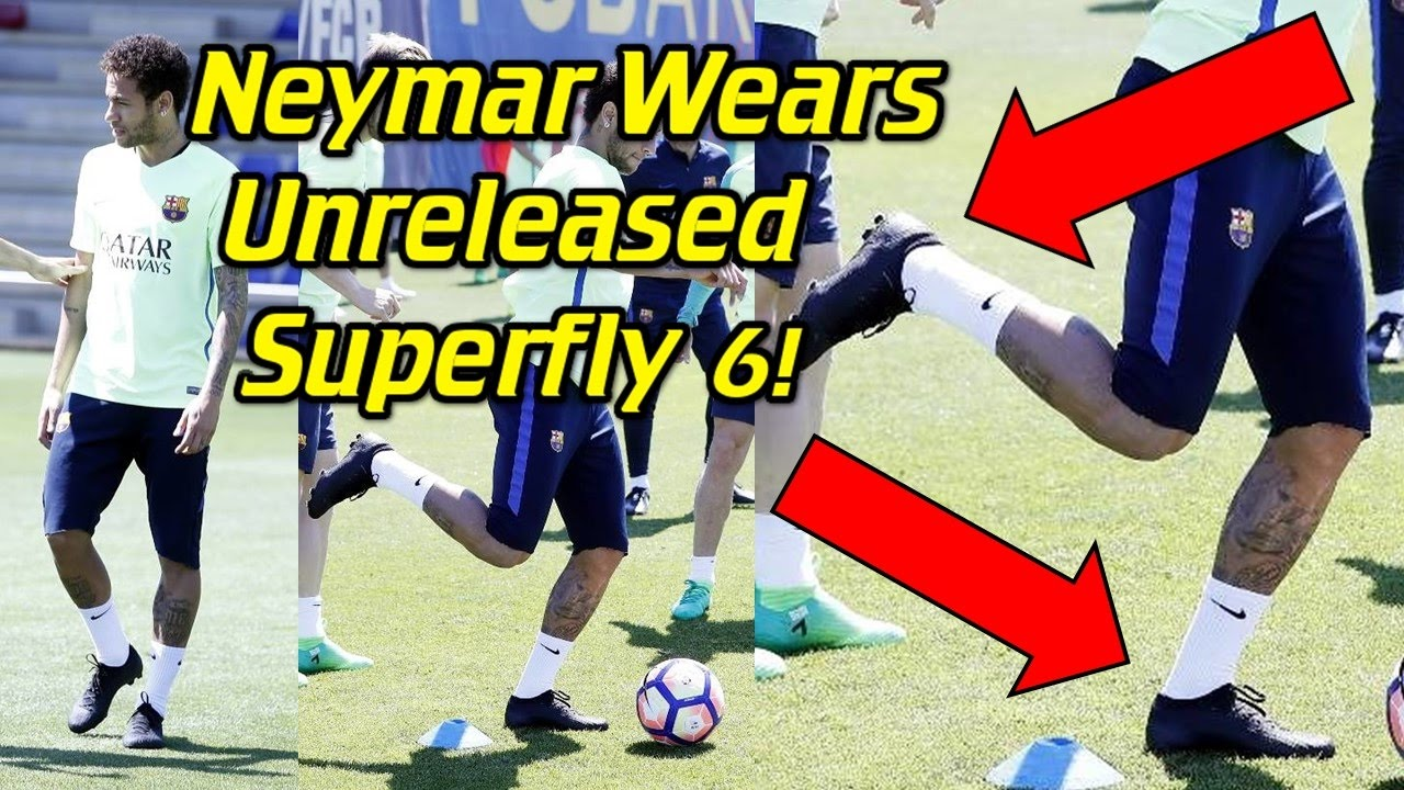 sale retailer 3c3ff 84015 Neymar Wears Nike Mercurial Superfly 6 in Practice?