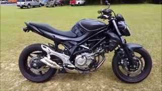 Suzuki SFV650 Gladius 2013 Videos