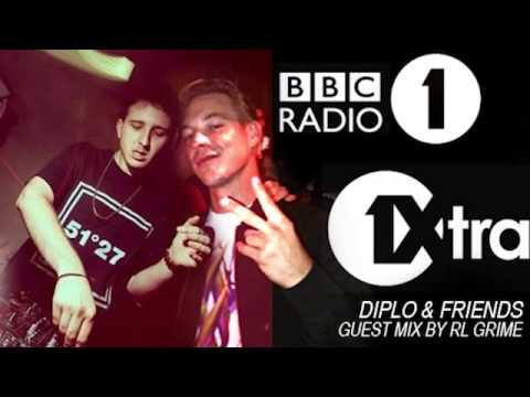 RL Grime's Guest Mix On 'Diplo And Friends' BBC Radio 1 (Full Length)