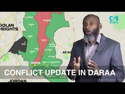 OGN Maps: Daraa update 11 July 2018