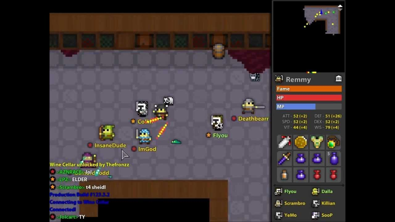 rotmg how to get demon blade