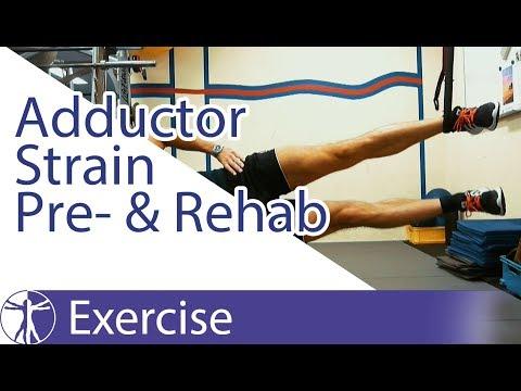 Copenhagen Adduction Exercise | Adductor Strain Preand Rehab
