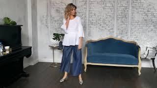 видео Выкройка блузки для беременных