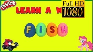 Angry Birds Play Doh Surprise Toys Learn A Word! Spell Animal Words! Part 1