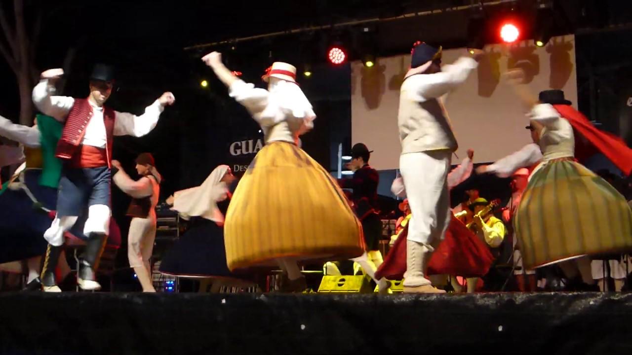 Seguidillas y Saltonas (Tenerife). EM De Folclore de Adeje. II Festival Chisaje. 2019