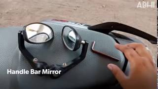 How To Install Handle Bar Mirror !!!