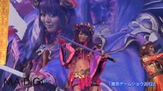 グラビアアイドル5人が、ソーシャルゲーム「大戦乱!!三国志バトル」に...