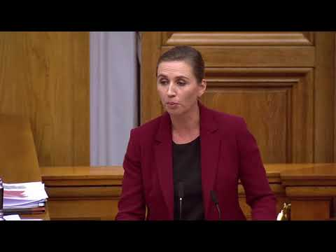 Ataque de risa no Parlamento danés