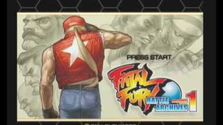 Fatal Fury Battle Archives 1 Intro SNK Sony Playstation 2 PAL Version