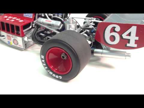 Lola T332 F-5000 Diecast model in 1:18 Scale by Classic Carlectibles
