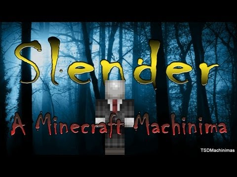 Minecraft horror movie: Slender