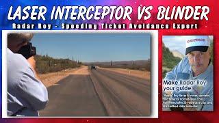 laser interceptor vs blinder hp 905 laser jammer test