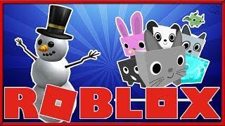 Roblox | Pet Simulator | Snowman Simulator