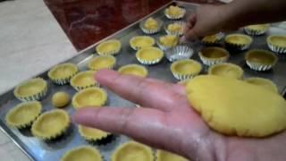 cara mencetak kulit pie