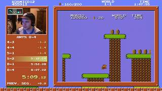 SMB2-J Any% Speedrun in 7:59.112 (Without Loads)