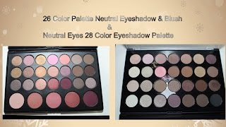 26 color palette neutral eyeshadow blush neutral eyes 28 color eyeshadow palette