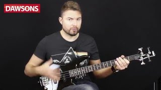 ibanez 2016 gsrm20 short scale bass guitar review