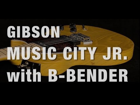 Gibson Music City Jr.with B-Bender  •  Wildwood Guitars Overview