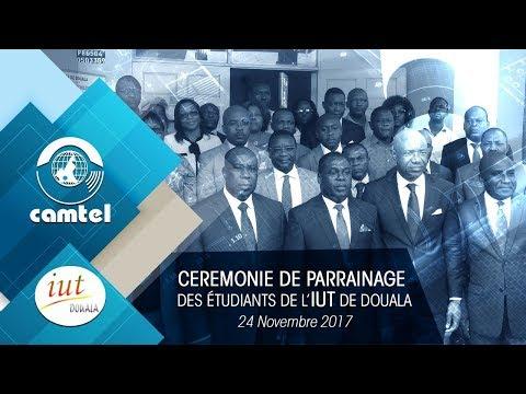 Cérémonie de parrainage des étudiants de l'IUT de Douala