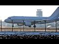 Qatar Amiri Airbus A319-115 Takeoff From Belgrade Airport
