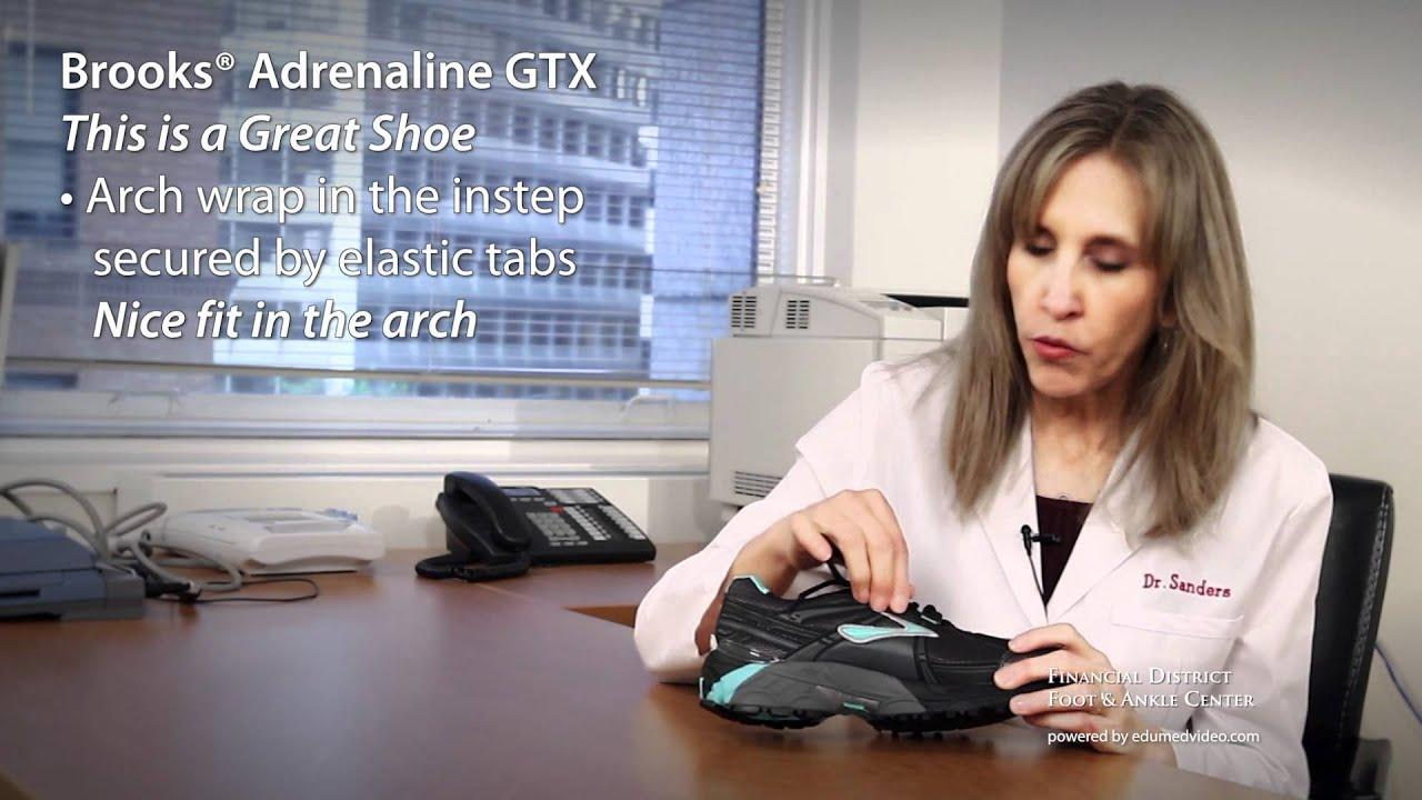 1ce8e485d8a Shoe Review - Brooks® Adrenaline GTX - Dr Jenny Sanders - San Francisco  Podiatrist