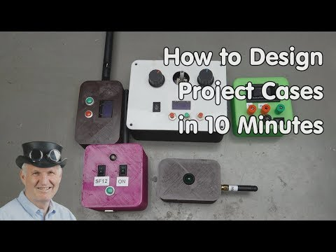 #258 Configurable Cases For Your Projects  (Arduino, ESP32, ESP8266)