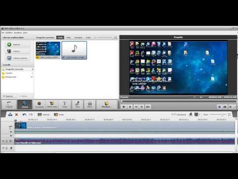 corso montaggio video #3: AVS VIDEO EDITOR | inserire una musica di sottofondo parte 2