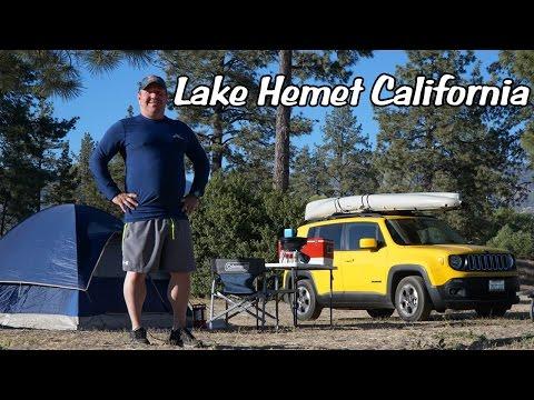 Paddling Lake Hemet California