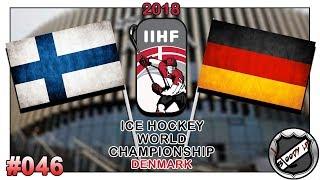 EISHOCKEY WELTMEISTERSCHAFT 2018 [Deutsch/German] #046 - Deutschland - Finnland ★ IIHF 2018