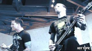 """Hot Sessions Remastered: Bleeding Through - """"Death Anxiety"""""""