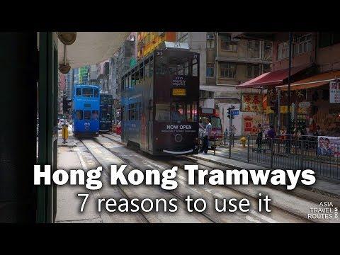 7 reasons to use the Hong Kong Tramways