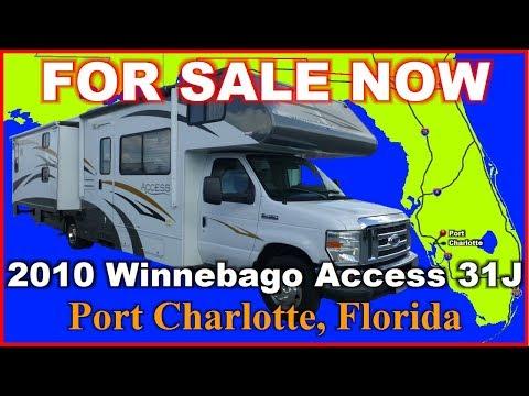2010 Winnebago Access 31J Used Class C Motorhome, Florida, Punta Gorda, Fort Myers