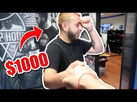 I WAGERED $1000 W/ BRAWADIS'S COUSIN ON CASH VS BRAWADIS 1v1 BASKETBALL GAME!!