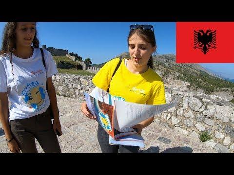 Exploring Rozafa Castle In Shkoder Albania