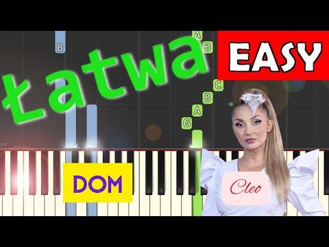 🎹 Dom (Cleo) - Piano Tutorial (łatwa wersja) 🎹