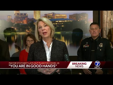 A plan for COVID-19: Mayor Stothert says Omaha is open for business