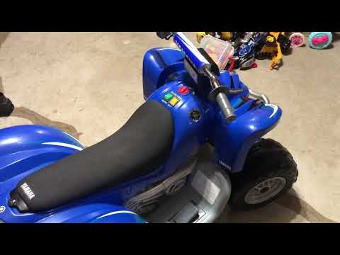 Yamaha Battery Operated Toy ATV Review